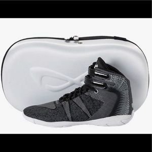 Nfinity Onyx Black Cheer Sneakers!